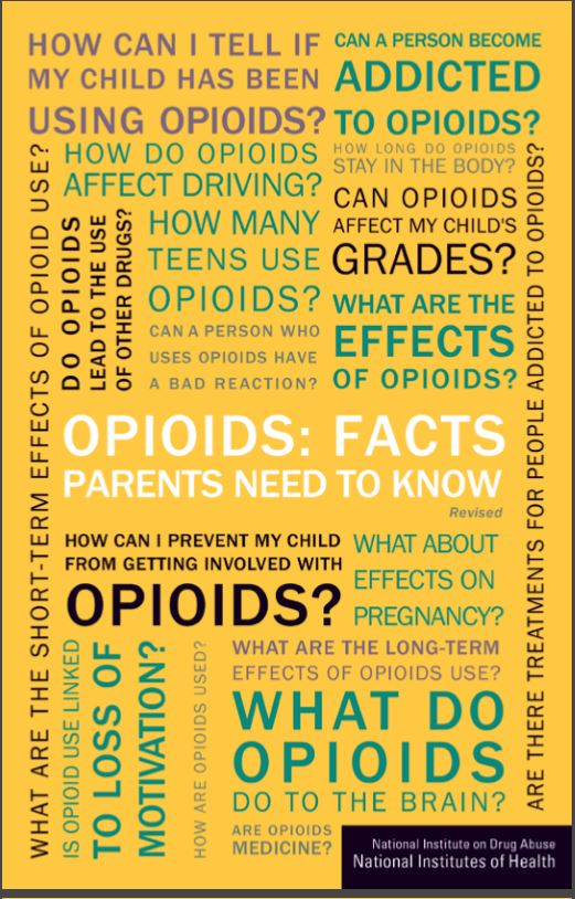 Opioid facts for Parents
